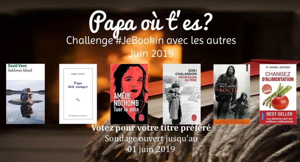 Club de lecture #JeBookin - Lecture commune de juin 2019