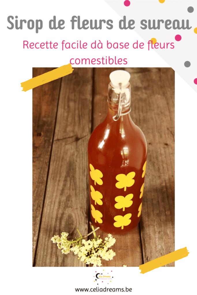 Sirop de fleur de sureau noir: recette naturelle à base de fleurs comestibles