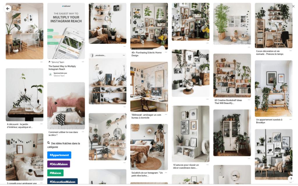 Décoration murale minimaliste - cadres photos et tableaux: inspiration Pinterest