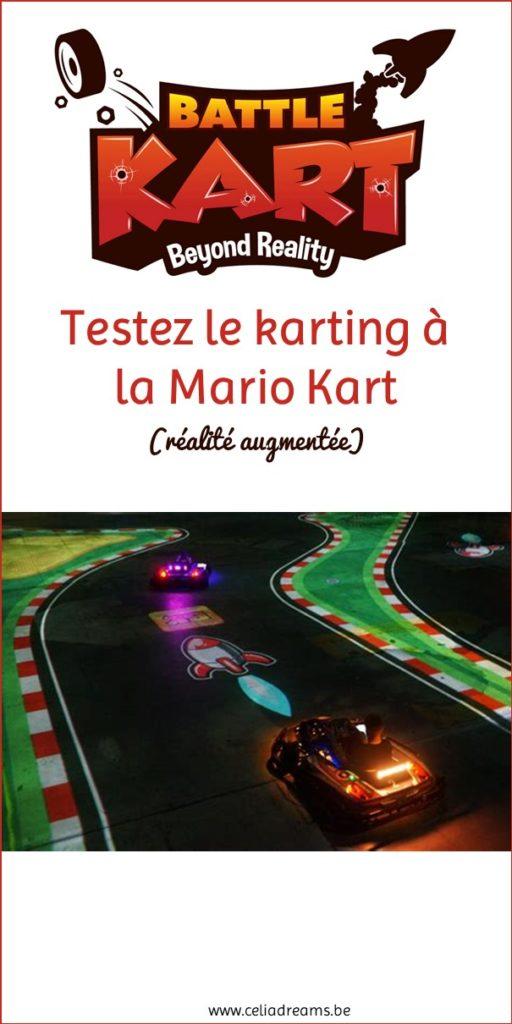 Battlekart - Testez le karting grandeur nature à la Mario Kart!