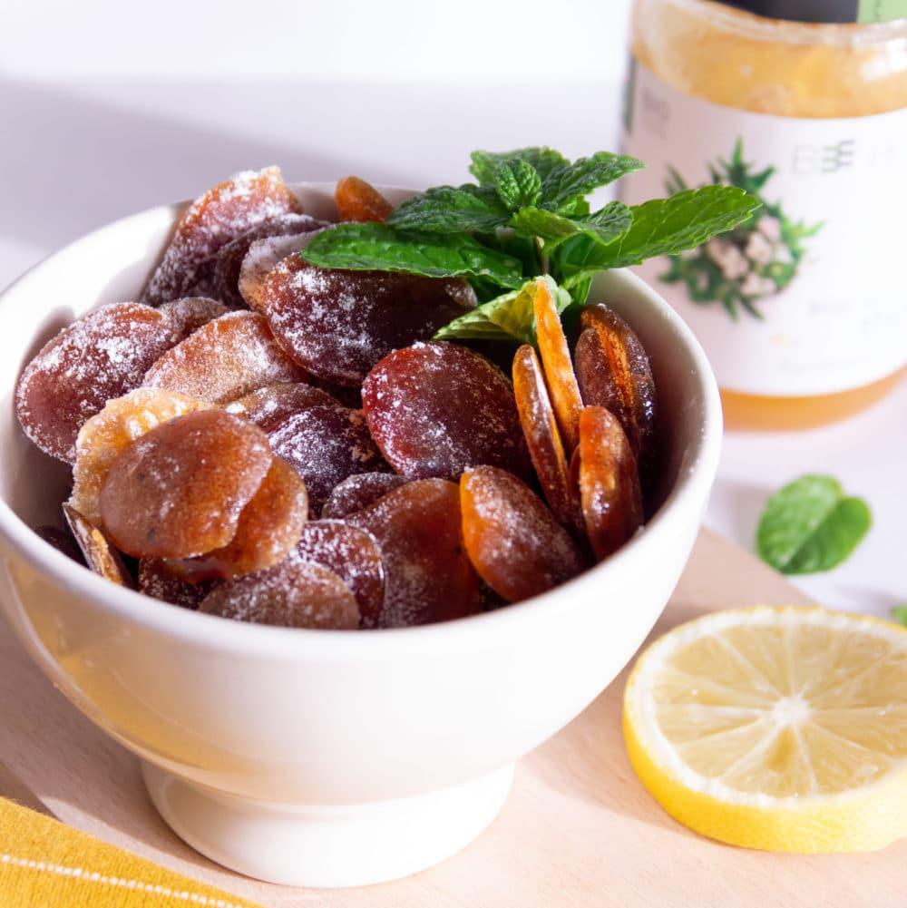 Pastilles adoucissantes contre le mal de gorge (recette naturelle)