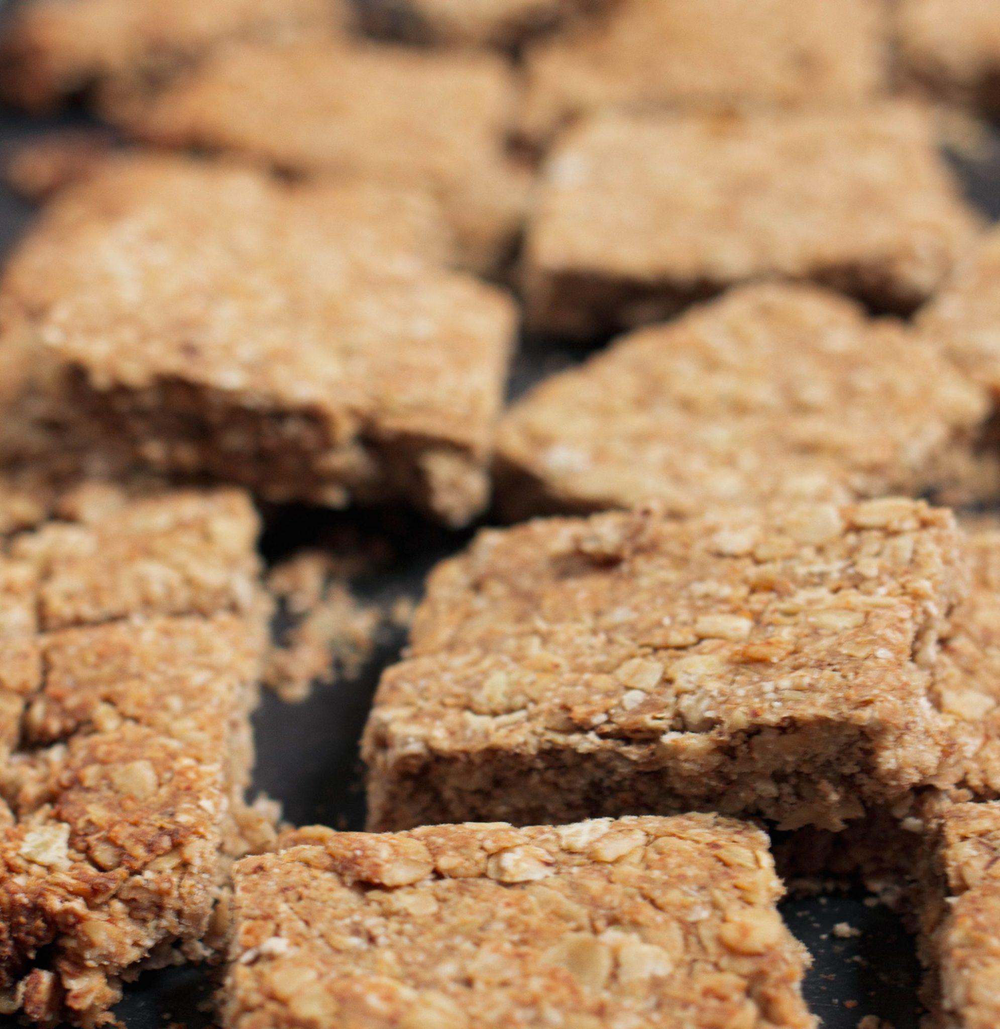 Flapjacks - recette de biscuits zéro déchet ultra sains